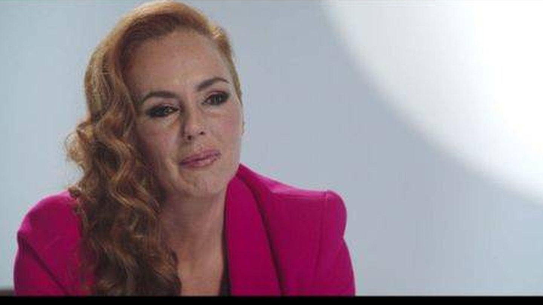 Rocío Carrasco, en 'Contar la verdad para seguir viva'. (Telecinco)