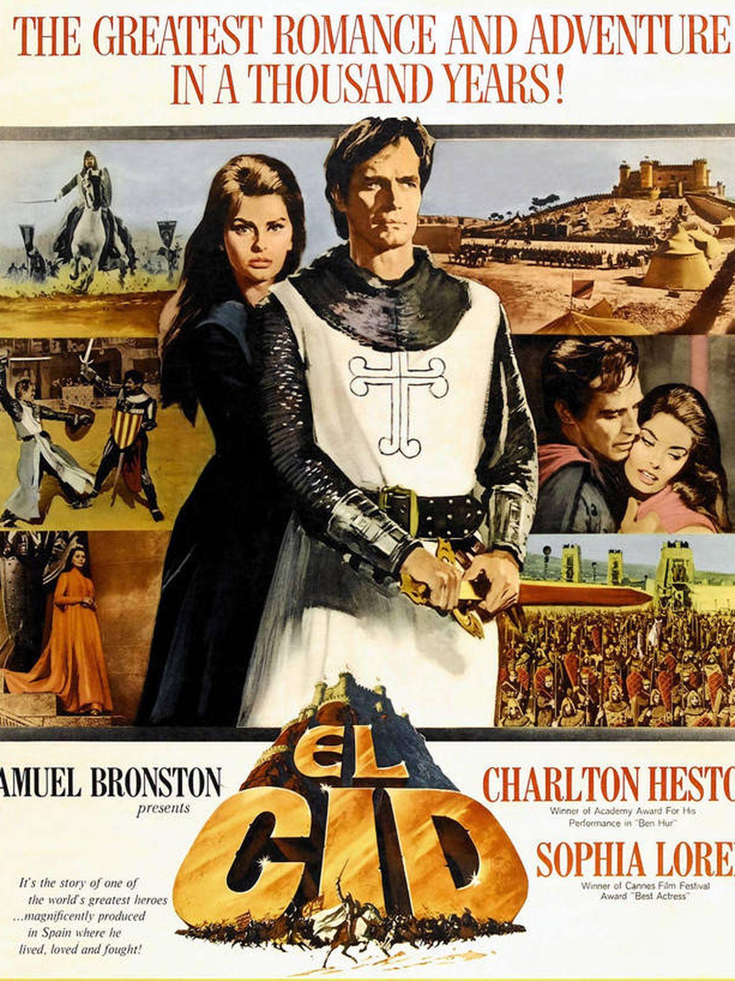 Cartel de 'El Cid'.