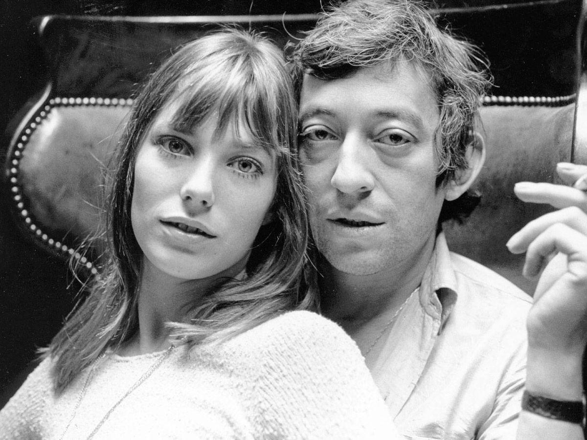 Foto: Serge Gainsbourg y Jane Birkin. (Getty)