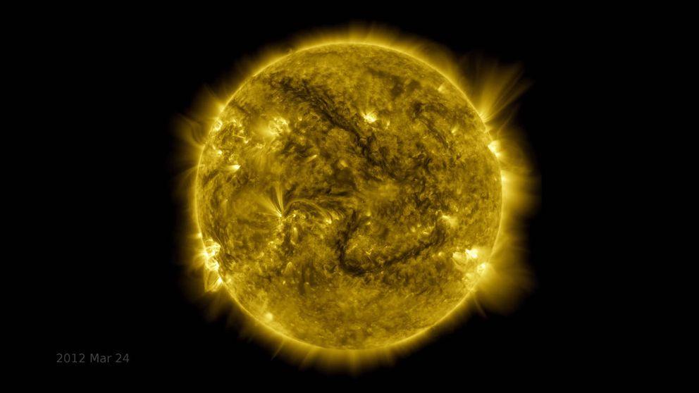 10 años de la evolución del Sol en este impresionante vídeo de la NASA