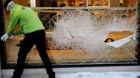 Persecución a tiros con la policía en Valencia tras robar una tienda de lujo