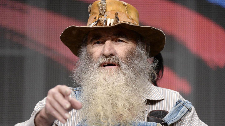 Herbert 'Cowboy' Coward. (Reuters)