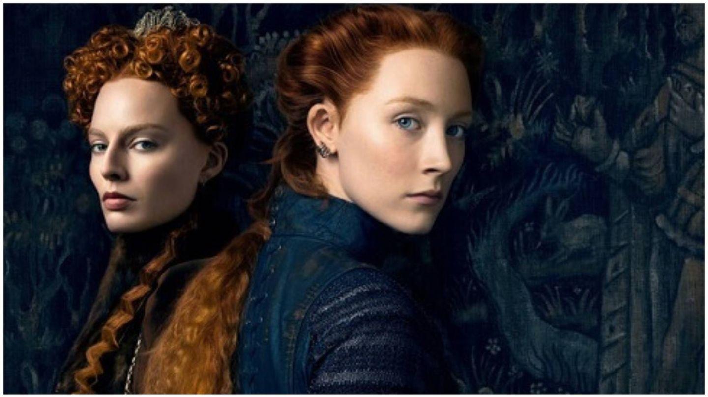 Margot Robbie y Saoirse Ronan, como Isabel I y María Estuardo en la película 'María, reina de Escocia'. (Universal Pictures)