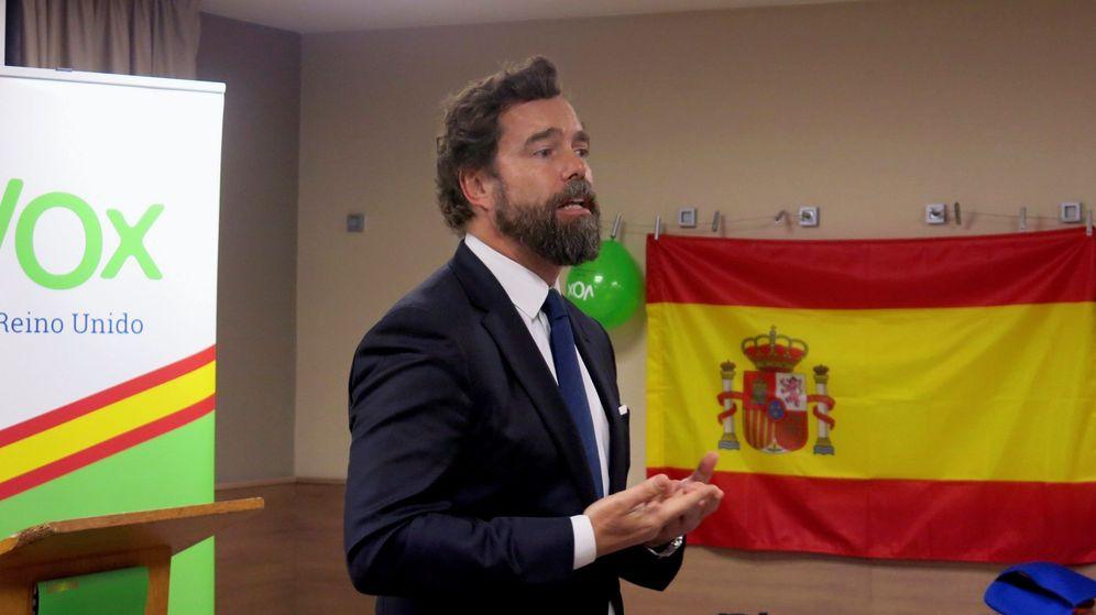 Foto: Iván Espinosa de los Monteros, en una presentación. (EFE)