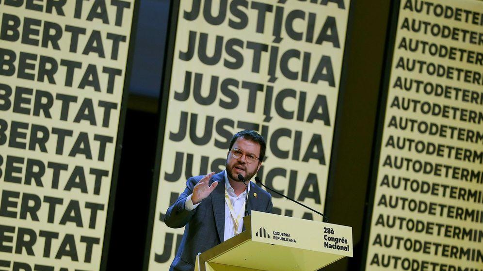 Foto: Congreso nacional de ERC. (EFE)