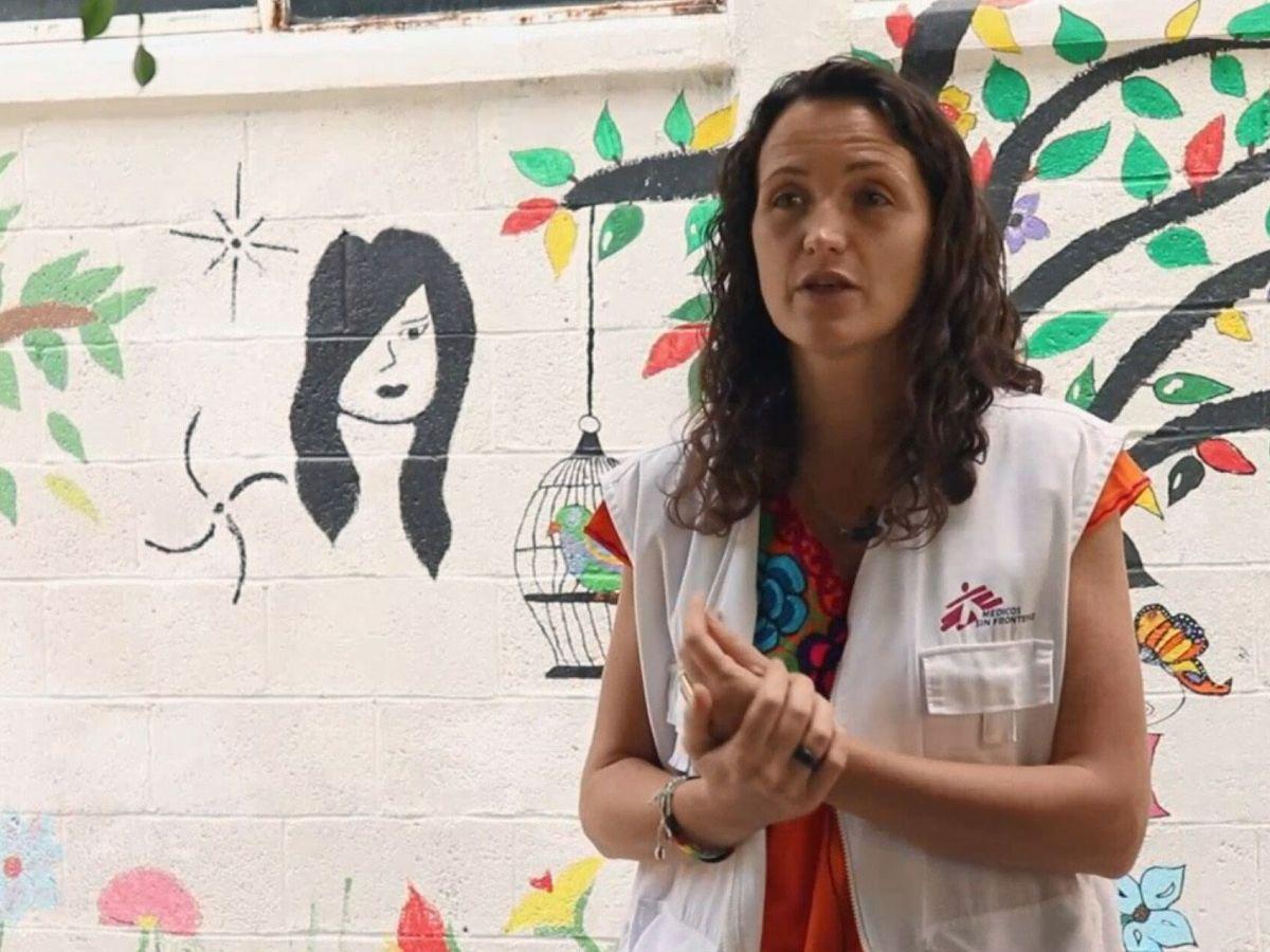 Foto: Imagen de la cooperante española María H., que ha sido asesinada junto a otros dos compañeros etíopes, todos empleados de Médicos Sin Fronteras (MSF). (EFE)