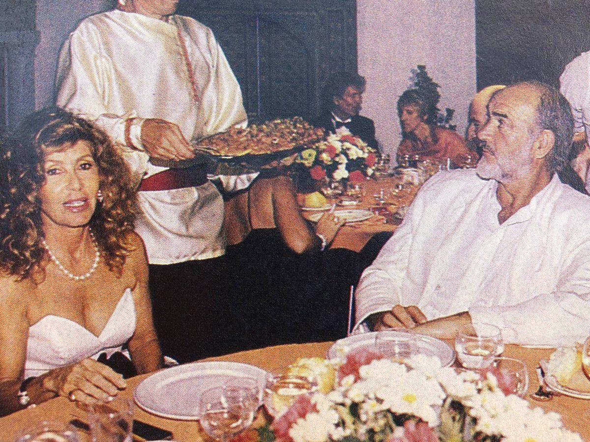 Foto: Sean Connery en Marbella. (Revista Tiempo)