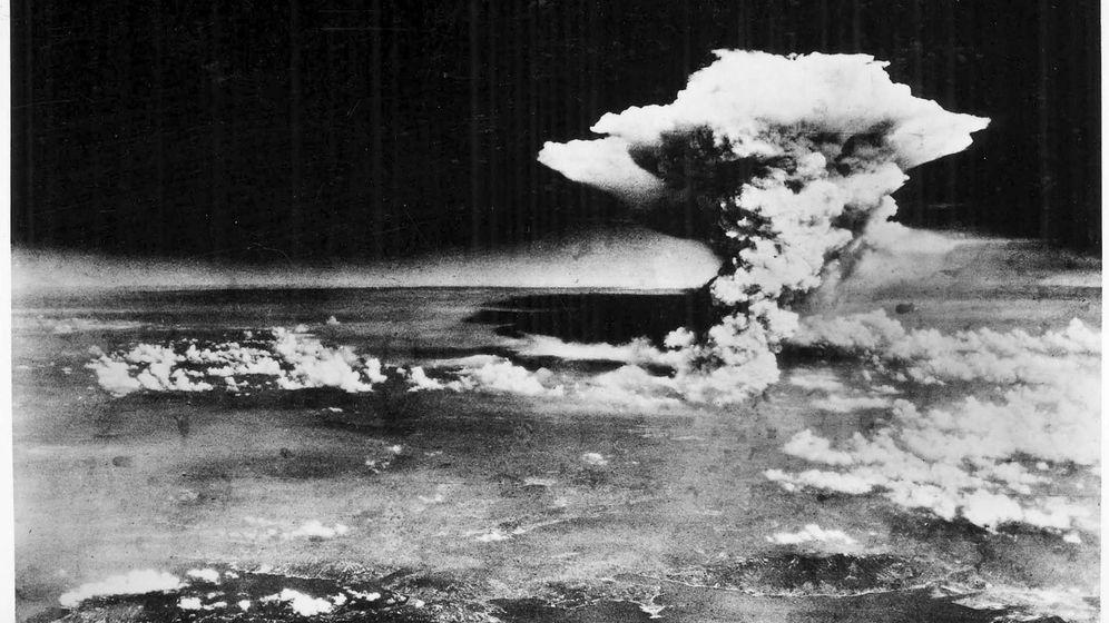 Foto: Foto facilitada por el Museo Conmemorativo de la Paz de Hiroshima que muestra la explosión de la bomba atómica sobre Hiroshima.