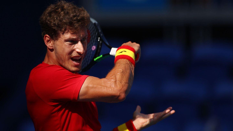 Pablo Carreño se llevó el primer set. (Reuters)