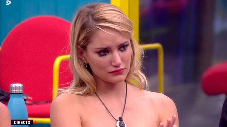 'GH VIP 7' | Las lágrimas de Alba Carrillo tras los mensajes en clave de su madre