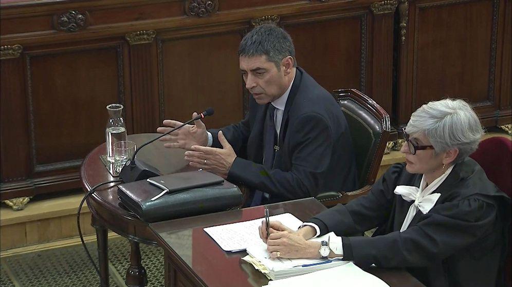 Foto: Josep Lluís Trapero, en el Supremo. (EFE)