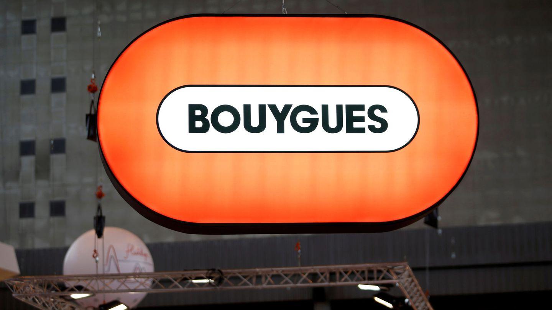 Logo de la matriz francesa Bouygues en París. (Reuters)