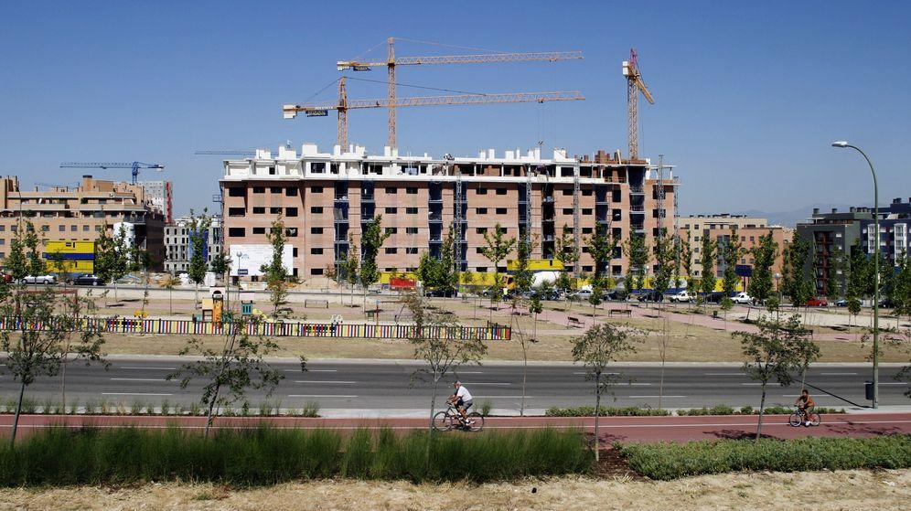 Foto: Imagen de un edificio de viviendas en construcción en España. (Reuters)