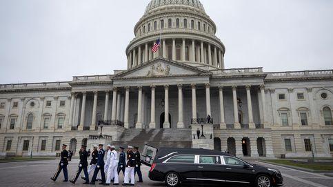 Las imágenes del funeral de John McCain en Washington