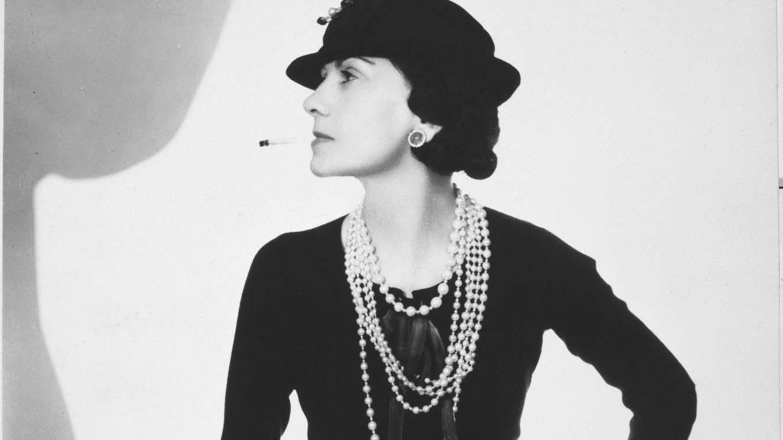 Foto: Coco Chanel en un retrato de Man Ray.