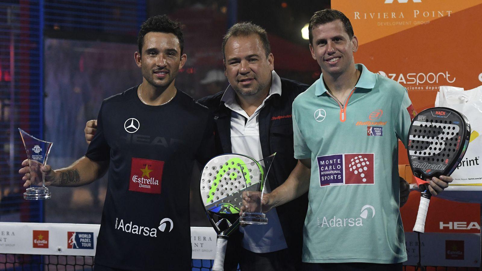 Foto: Sanyo Gutiérrez (i) y Paquito Navarro (d) han ganado los dos torneos disputados. (EFE)