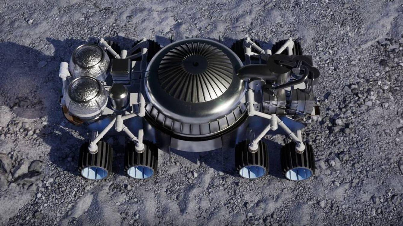 El rover que extrae agua del suelo lunar con microexplosiones