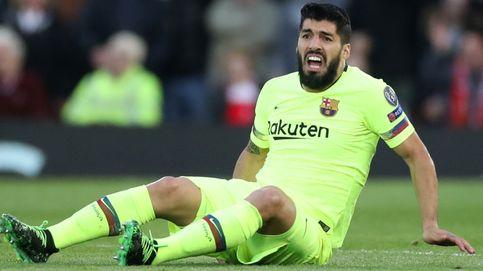 Luis Suárez, operado del menisco de la rodilla derecha, no jugará la final de Copa