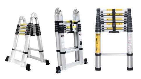 Las mejores escaleras telescópicas para bricolaje doméstico y profesional