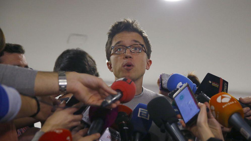 Foto: Íñigo Errejón a su llegada al Consejo Ciudadano Estatal de este sábado. (EFE)