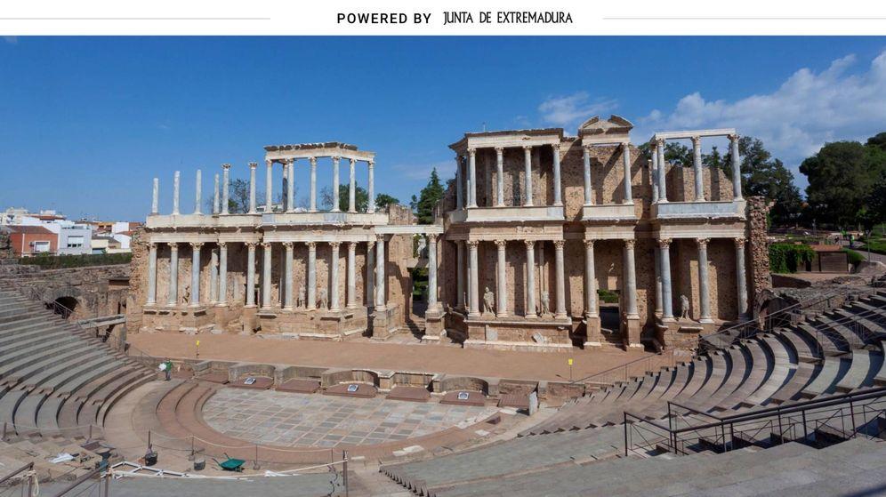 Foto: Teatro romano de Mérida. (EFE)