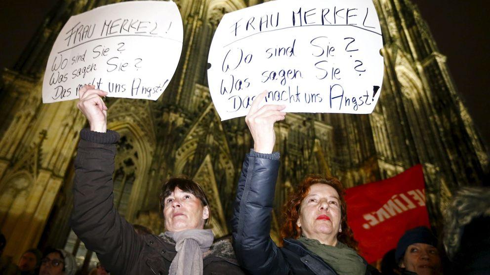 Expulsiones rápidas, policía y cámaras: Merkel contraataca tras el escándalo de Colonia