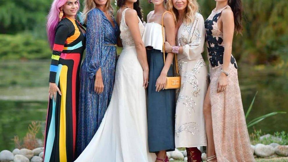 Amaia Salamanca, Eugenia Silva y Marta Sánchez, en la boda más 'chic' del verano