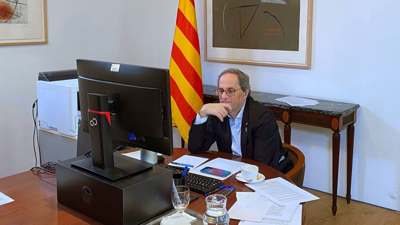 Cataluña tendrá sus primeros presupuestos 'telemáticos' de la historia la próxima semana