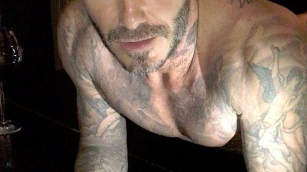 La espeluznante transformación de Beckham de buenorro a orco repugnante
