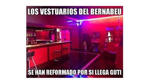 La discoteca-vestuario de Guti en el Madrid y los pelotazos de Sergio Ramos de 18 a 20h
