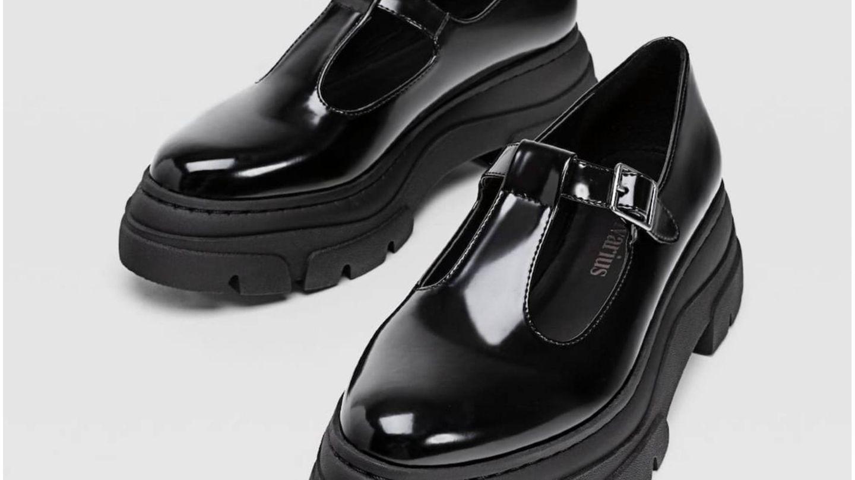 Zapatos Stradivarius. (Cortesía)
