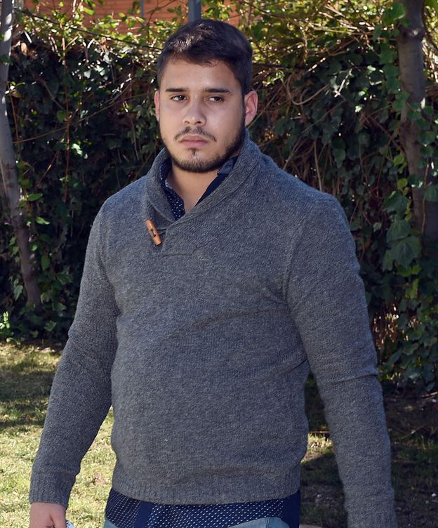 Foto: José Fernando, ingresado en el hospital tras intentar saltar por una ventana