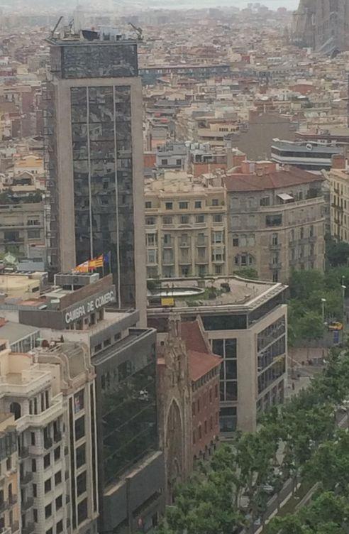 Foto: La torre Deutsche Bank en Barcelona. (M. L.)