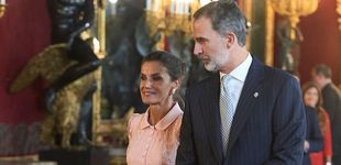 Post de Felipe y Letizia presumen de hijas y otras anécdotas: lo que no viste de la recepción