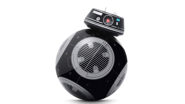 Foto: Droide controlado por app BB-9E con entrenador de droides de Sphero.