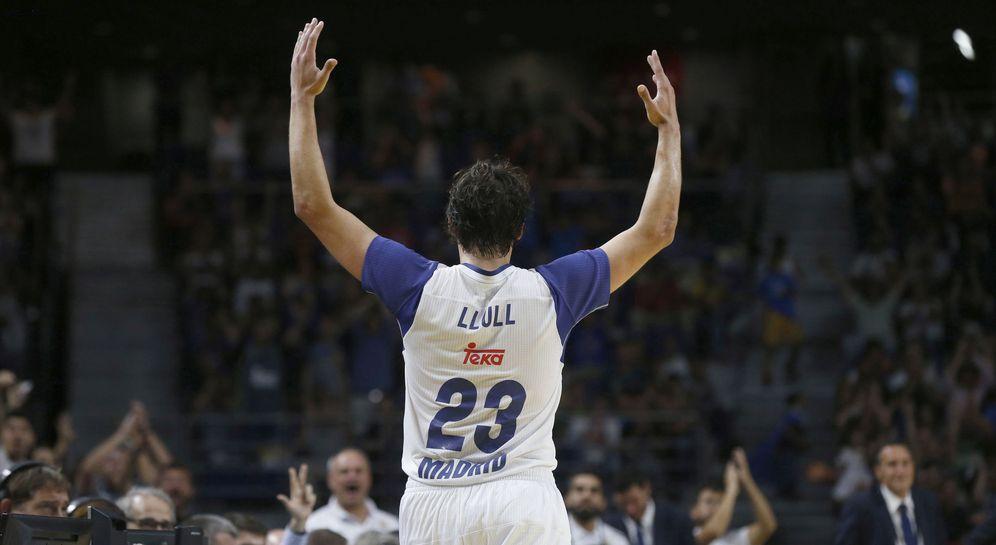 Foto: Sergio Llull fue determinante en el triunfo del Real Madrid ante los Oklahoma City Thunder. (EFE)