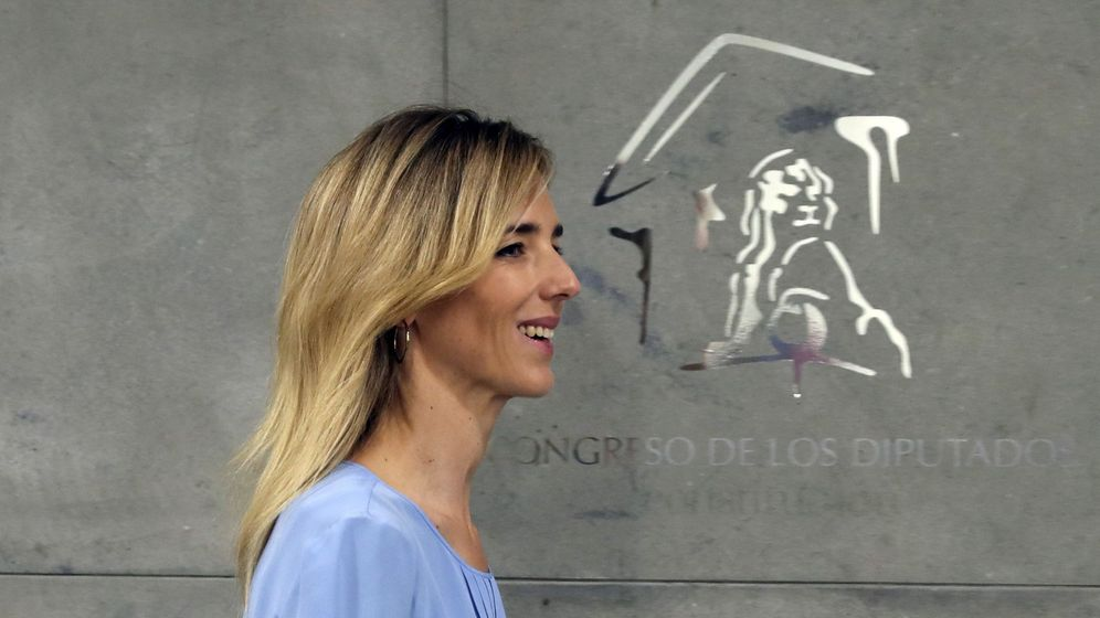 Foto: Álvarez de Toledo se estrena como portavoz del PP en el Congreso de los Diputados. (EFE)