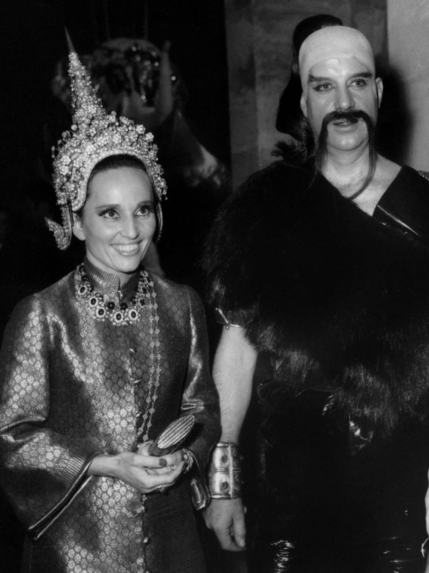 Invitados a Le Bal Oriental en 1969. (Cordon Press)