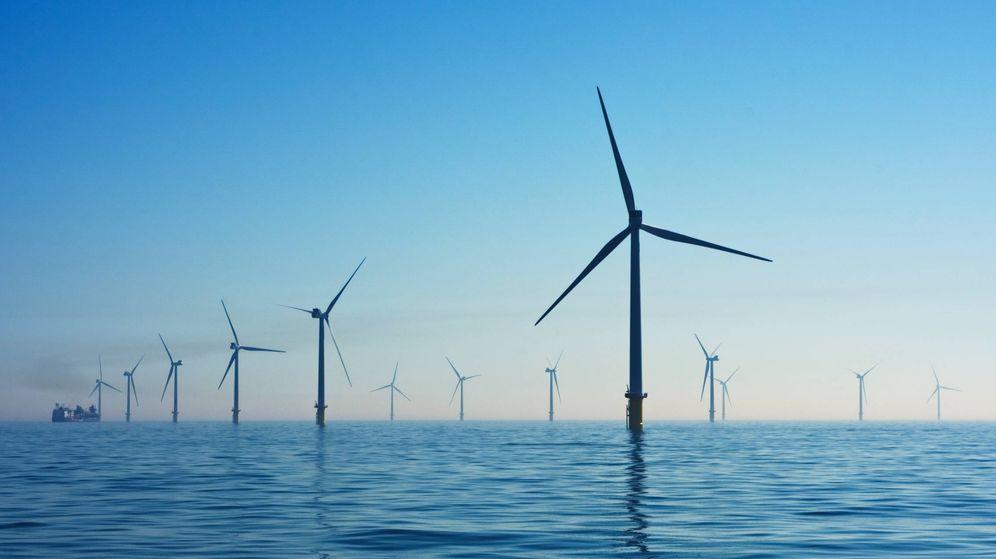Foto: Fotografía de archivo de un parque eólico marino. (Imagen de Nicholas Doherty/Unsplash)