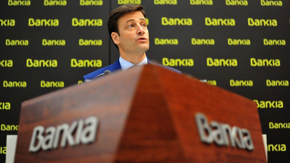Las posiciones cortas en Bankia caen al 3,8% desde máximos