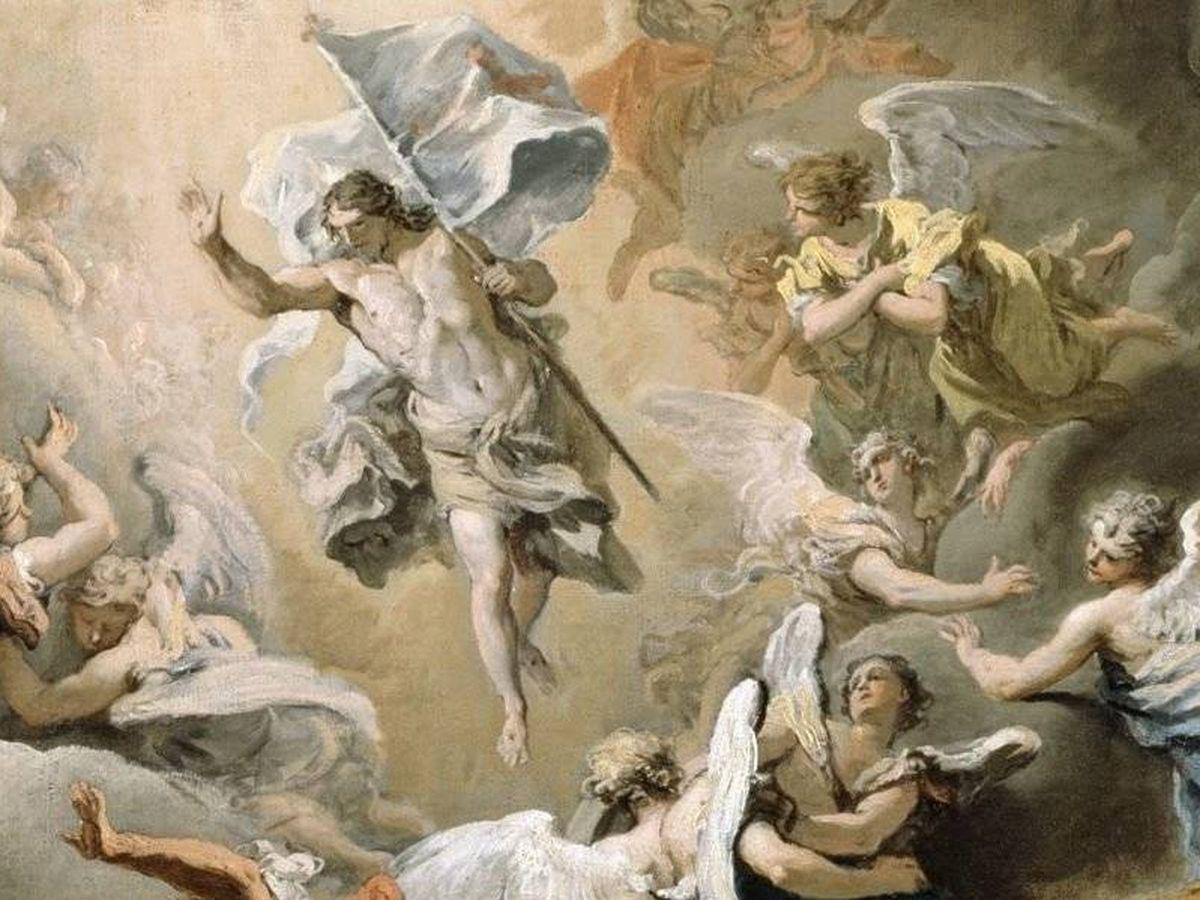 Foto: Representación de la Resurrección de Jesús