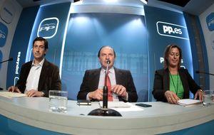 Pujalte: ya se retiró el Plan Ibarretxe y no temblarán las manos con Mas