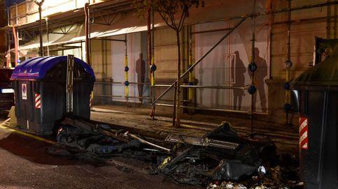 Seis detenidos tras una noche de disturbios contra el toque de queda en Bilbao