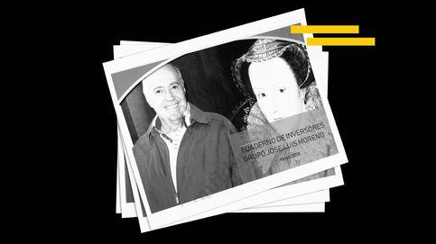El dosier de José Luis Moreno para inversores con Beckham, Rocío Jurado y Paz Padilla