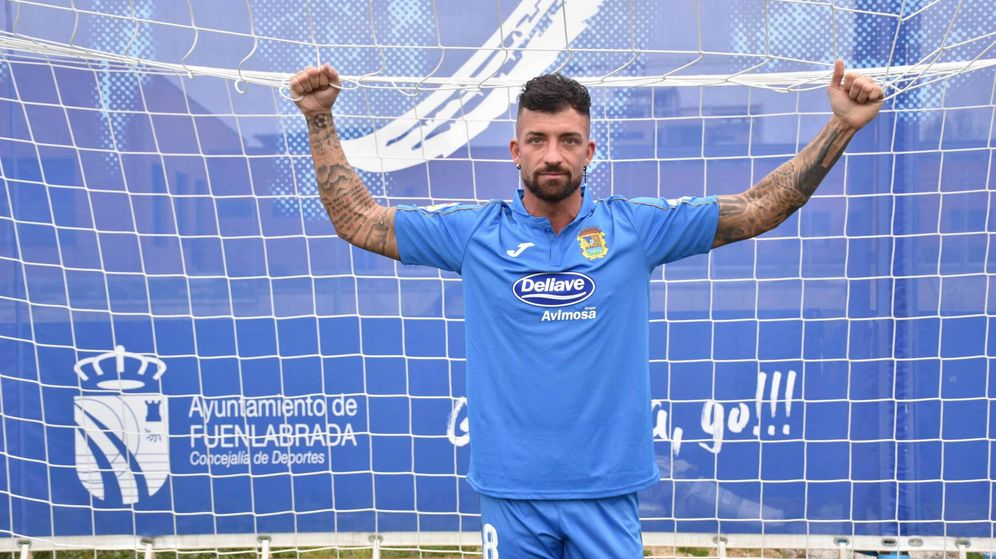 Foto: Rubén Sánchez, nuevo 'fichaje' del CF Fuencalabrada. (CF Fuenlabrada)