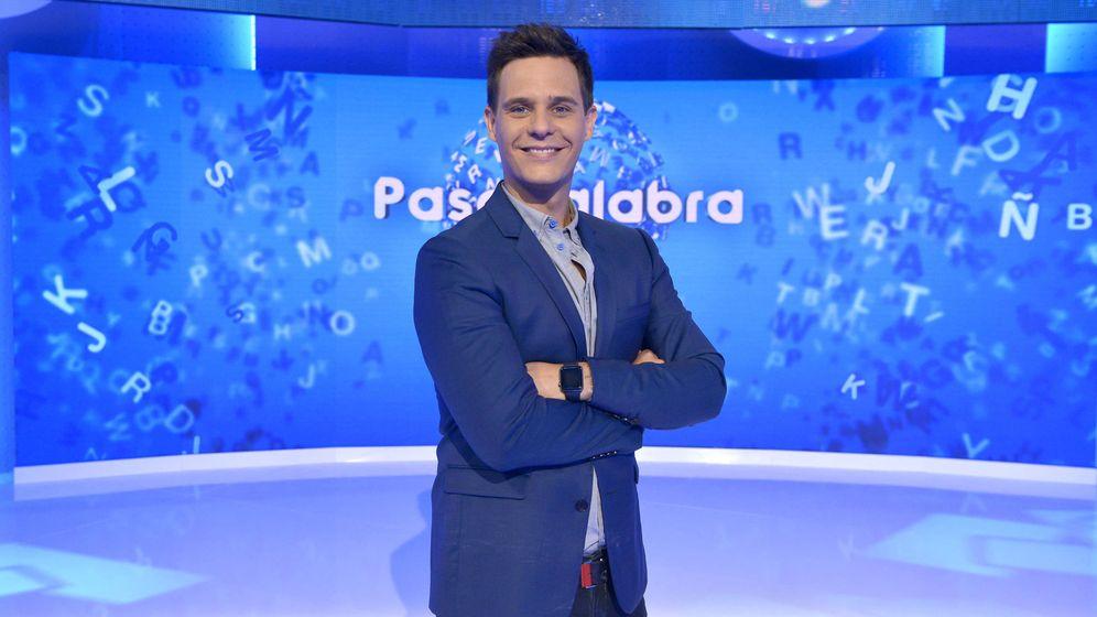 Foto: Christian Gálvez, presentador de 'Pasapalabra'. (Mediaset)