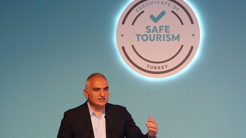 El ministro turco de Turismo, Mehmet Nuri Ersoy. (Reuters)