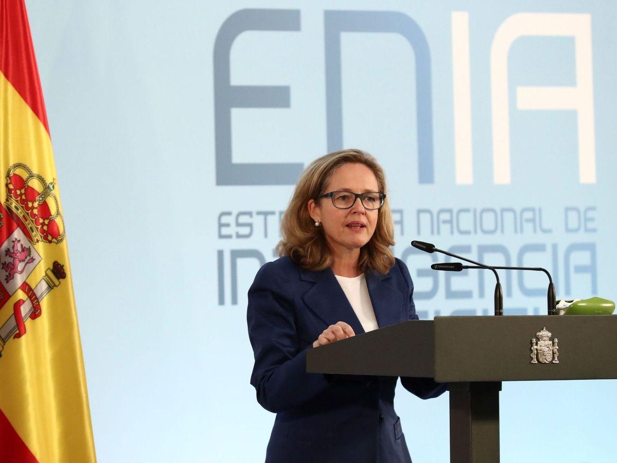 Foto: La ministra de Economía, Nadia Calviño