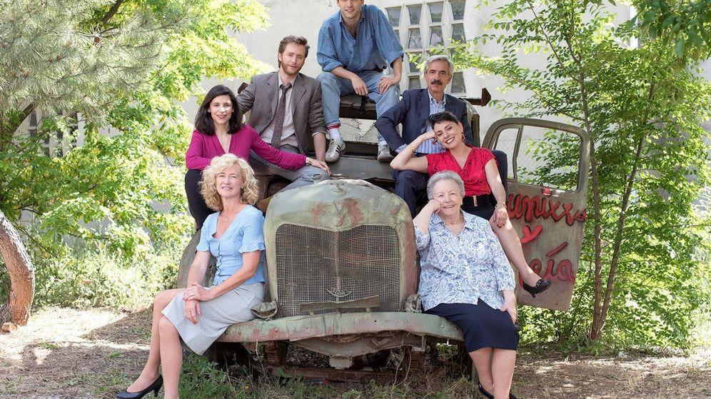 Foto: El elenco de 'Cuéntame cómo pasó', una de las series más conocidas de RTVE. (RTVE)