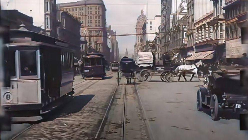 Disfruta de un increíble paseo en 4K por San Francisco días antes del terremoto de 1906